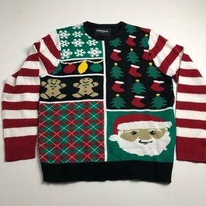 Amnesia Ugly Christmas Sweater Mens XL